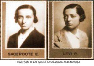 Fotografía de la Dra. Sacerdote junto a su prima Rita Levo Montalcini