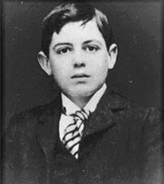 Houssay a los 12 o 13 años. Foto Patricia Saragueta Casa Museo