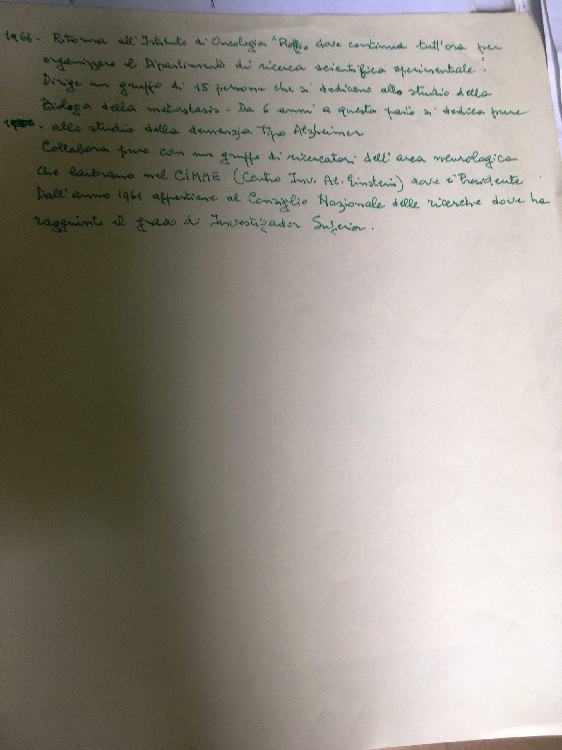 CV Manuscrito